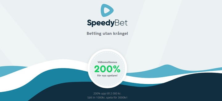 SpeedyBet casinobonus 2019 - Regler och villkor